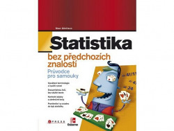 Statistika bez předchozích znalostí obálka knihy