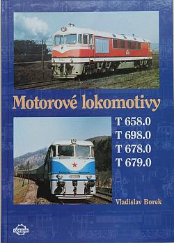 Motorové lokomotivy T 658.0, T 698.0, T 678.0, T 679.0 obálka knihy