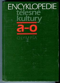 Encyklopedie tělesné kultury A-O obálka knihy
