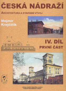 Česká nádraží IV. díl, první část obálka knihy