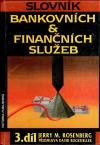 Slovník bankovních a finančních služeb III