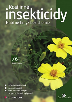 Rostlinné insekticidy obálka knihy