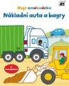Moje omalovánka: Nákladní auta a bagry