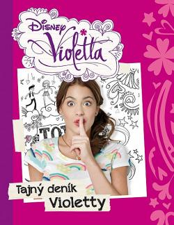 Tajný deník Violetty obálka knihy