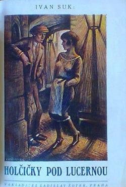 Holčičky pod lucernou obálka knihy