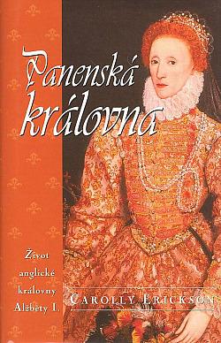 Panenská královna obálka knihy