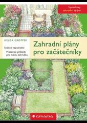Zahradní plány pro začátečníky obálka knihy