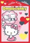 Hello Kitty - Omalovánky se samolepkami