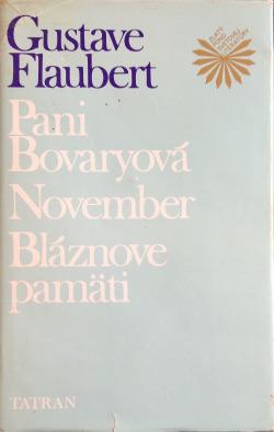 Pani Bovaryová / November / Bláznove pamäti obálka knihy
