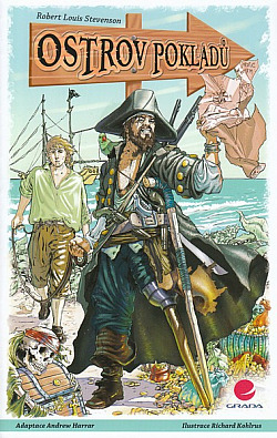 Ostrov pokladů (komiks) obálka knihy