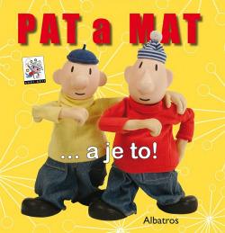 Pat a Mat ... a je to obálka knihy