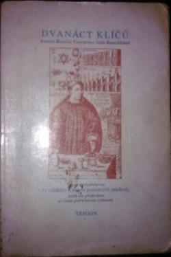 Dvanáct klíčů bratra Basilia Valentina obálka knihy
