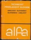 Technický prekladový slovník anglicko - slovenský, slovensko - anglický