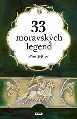 33 moravských legend obálka knihy