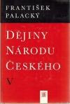 Dějiny národu českého V