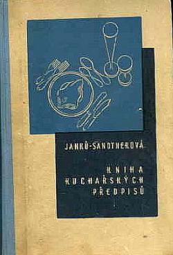 Kniha kuchařských předpisů obálka knihy