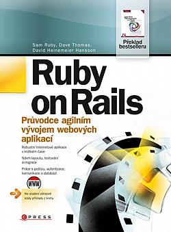 Ruby on Rails obálka knihy