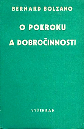 O pokroku a dobročinnosti obálka knihy