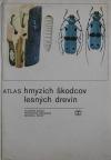 Atlas hmyzích škodcov lesných drevín obálka knihy
