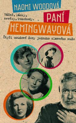 Paní Hemingwayová obálka knihy