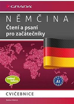 Němčina - Čtení a psaní pro začátečníky A1 - cvičebnice obálka knihy