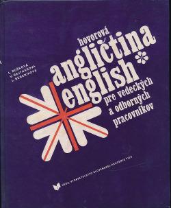 Hovorová angličtina pre vedeckých a odborných pracovníkov obálka knihy
