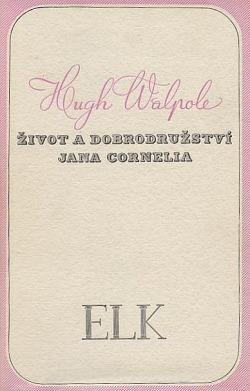 Život a dobrodružství Jana Cornelia obálka knihy