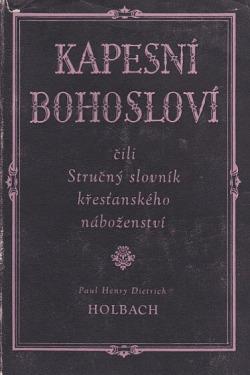 Kapesní bohosloví obálka knihy