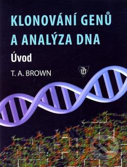 Klonování genů a analýza DNA obálka knihy