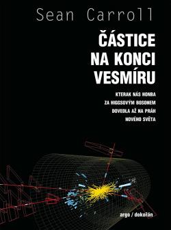 Částice na konci vesmíru obálka knihy