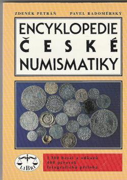 Encyklopedie české numismatiky obálka knihy