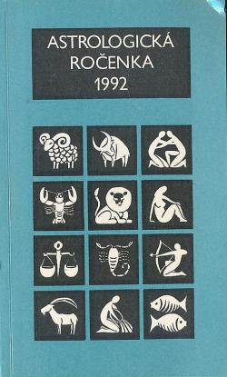 Astrologická ročenka 1992 obálka knihy