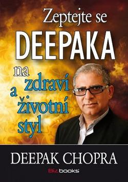 Zeptejte se Deepaka na zdraví a životní styl obálka knihy