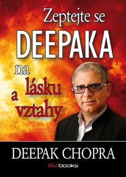 Zeptejte se Deepaka na lásku a vztahy obálka knihy