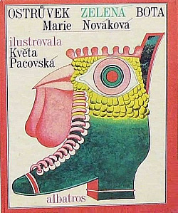 Ostrůvek Zelená bota obálka knihy
