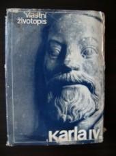 Vlastní životopis Karla IV. obálka knihy