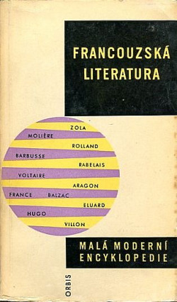 Francouzská literatura obálka knihy
