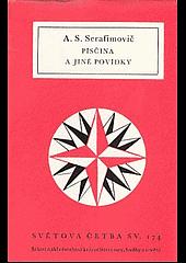 Písčina a jiné povídky obálka knihy