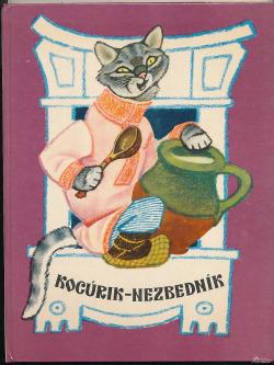 Kocúrik - nezbedník obálka knihy
