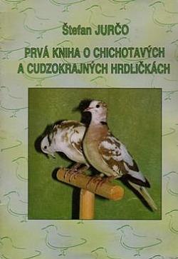 Prvá kniha o chichotavých a cudzokrajných hrdličkách obálka knihy