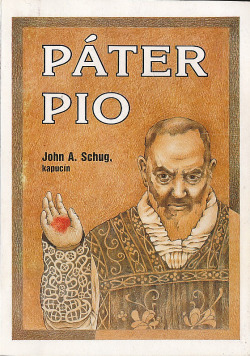 Páter Pio obálka knihy