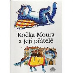 Kočka Moura a její přátelé obálka knihy
