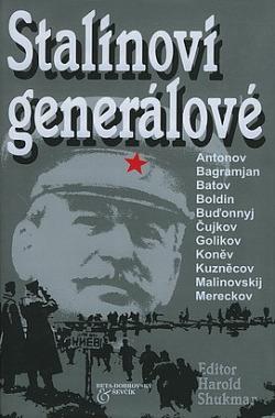 Stalinovi generálové obálka knihy