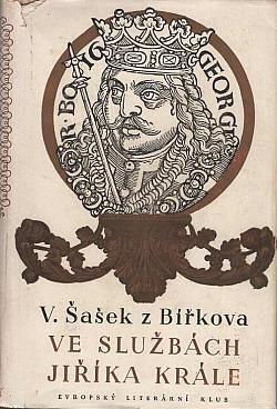 Ve službách Jiříka krále obálka knihy