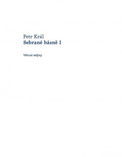 Sebrané básně I obálka knihy