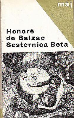 Sesternica Beta obálka knihy