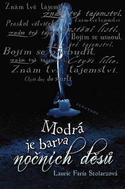 Modrá je barva nočních děsů obálka knihy