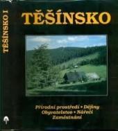 Těšínsko 1. díl obálka knihy