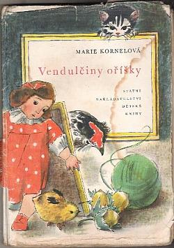 Vendulčiny oříšky obálka knihy