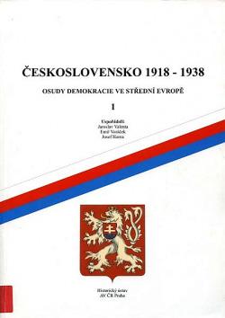 Československo 1918–1938 I. obálka knihy